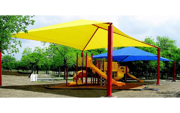 Large Yellow Rectangle Shade