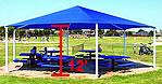 12 foot hexagon playground shades