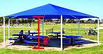 8 foot hexagon playground shades