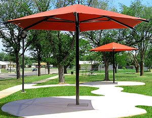 umbrella hexagon shade