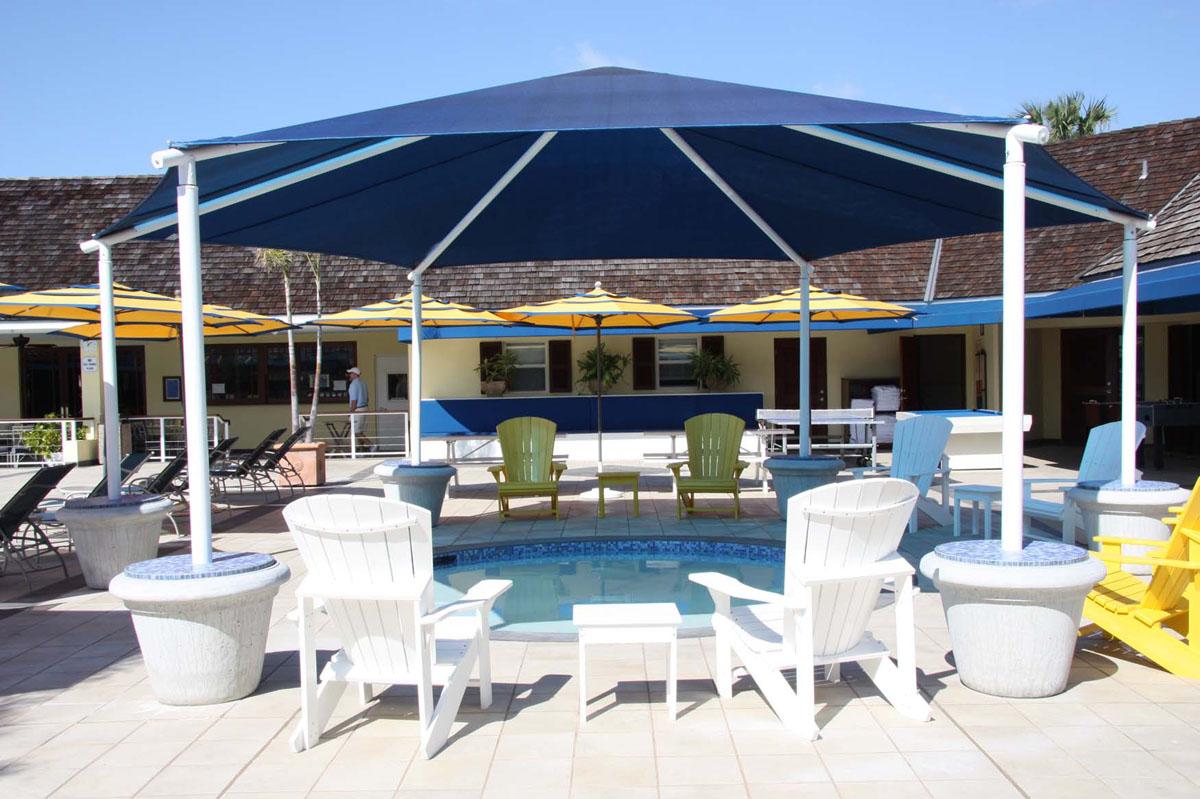 hexagon hip shade & hexagon hip roof shades octagon hip roof shades