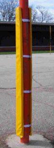 post padding and pole padding