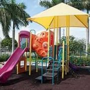 min canopy shade for a playground