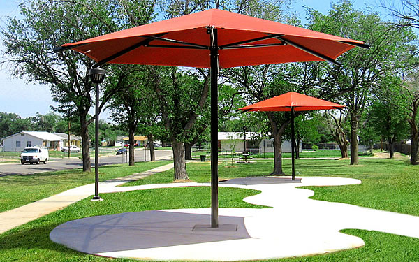 Play Area Hexagon Umbrella