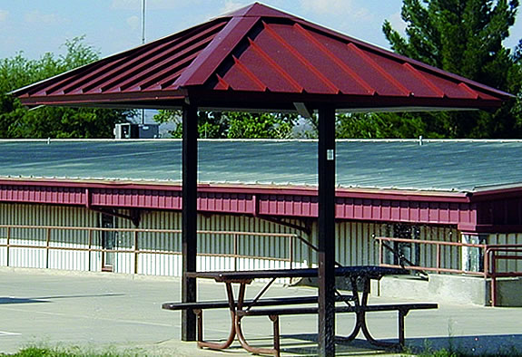 2-Post Hard Top Umbrella Shade