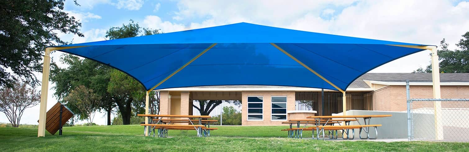 We Specialize in Playground Shade Structures